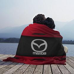 Плед флисовый Mazda Sport цвета 3D-принт — фото 2