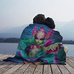Плед флисовый Nami: LoL цвета 3D-принт — фото 2