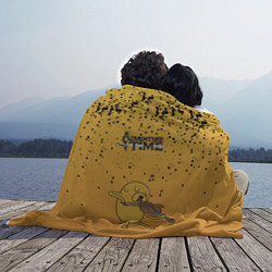 Плед флисовый Jake-musician цвета 3D-принт — фото 2