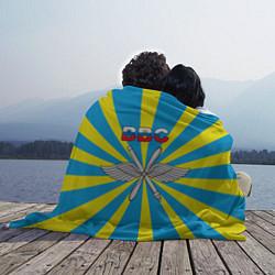 Плед флисовый Флаг ВВС цвета 3D-принт — фото 2