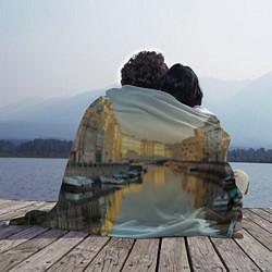 Плед флисовый Питер цвета 3D-принт — фото 2