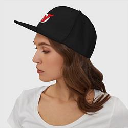 Кепка-снепбек New Jersey Devils цвета черный — фото 2