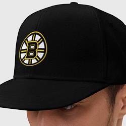 Кепка-снепбек Boston Bruins цвета черный — фото 1