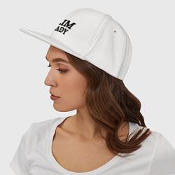 Кепка-снепбек Slim Shady: Big E цвета белый — фото 2