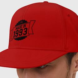 Кепка-снепбек Made in 1993 цвета красный — фото 1