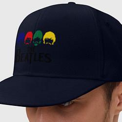 Кепка-снепбек The Beatles Heads цвета тёмно-синий — фото 1