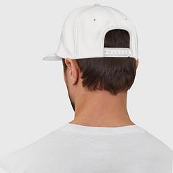 Кепка-снепбек Twitch Logo цвета белый — фото 2