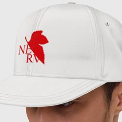 Кепка-снепбек Евангелион NERV цвета белый — фото 1