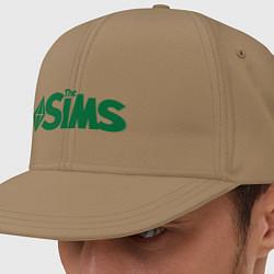 Кепка-снепбек Sims цвета миндальный — фото 1