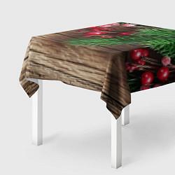 Скатерть для стола Дуx рождества цвета 3D-принт — фото 2