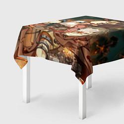 Скатерть для стола Воин крепости цвета 3D — фото 2