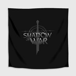 Скатерть для стола Shadow of War цвета 3D-принт — фото 1