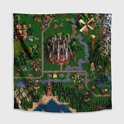 Скатерть для стола Heroes III: Map цвета 3D-принт — фото 1