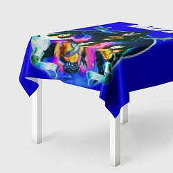 Скатерть для стола Kiss Show цвета 3D — фото 2