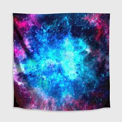 Скатерть для стола Голубая вселенная цвета 3D — фото 1