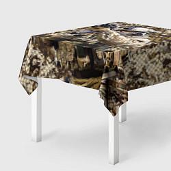 Скатерть для стола Спецназ 1 цвета 3D — фото 2