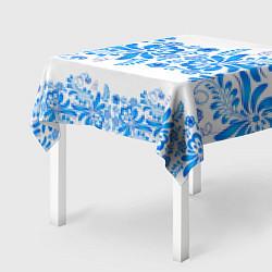 Скатерть для стола Гжель цвета 3D — фото 2