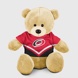 Игрушка-медвежонок NHL: Carolina Hurricanes цвета 3D-желтый — фото 1