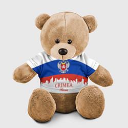 Игрушка-медвежонок Crimea, Russia цвета 3D-коричневый — фото 1