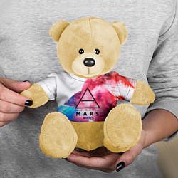 Игрушка-медвежонок 30 Seconds to Mars цвета 3D-желтый — фото 2