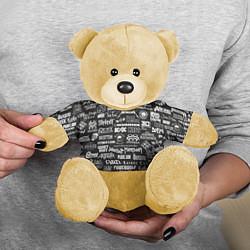 Игрушка-медвежонок Rock Star цвета 3D-желтый — фото 2