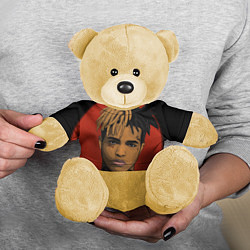 Игрушка-медвежонок XXXTentacion: Red Sun цвета 3D-желтый — фото 2