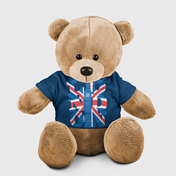 Игрушка-медвежонок London: Great Britain цвета 3D-коричневый — фото 1
