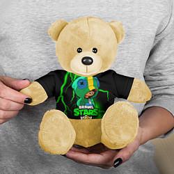 Игрушка-медвежонок Brawl Stars LEON цвета 3D-желтый — фото 2