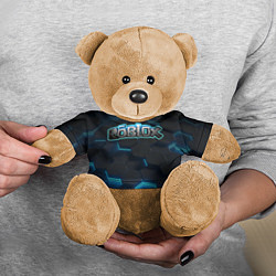 Игрушка-медвежонок Roblox Neon Hex цвета 3D-коричневый — фото 2