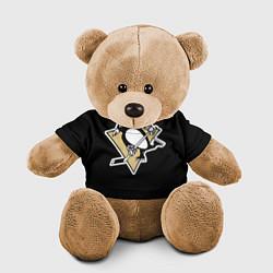 Игрушка-медвежонок Pittsburgh Penguins: Malkin цвета 3D-коричневый — фото 1
