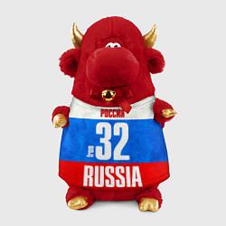 Игрушка-бычок Russia: from 32 цвета 3D-красный — фото 1