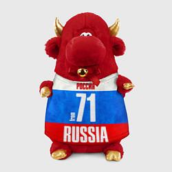 Игрушка-бычок Russia: from 71 цвета 3D-красный — фото 1