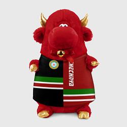 Игрушка-бычок Chechnya, Russia цвета 3D-красный — фото 1