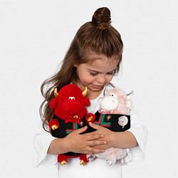 Игрушка-бычок Сборная Португалии: Альтернатива ЧМ-2018 цвета 3D-красный — фото 2