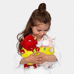 Игрушка-бычок Сборная Швеции: Домашняя ЧМ-2018 цвета 3D-красный — фото 2