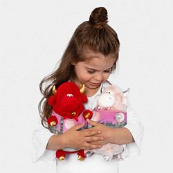 Игрушка-бычок Закат в Великобритании цвета 3D-красный — фото 2