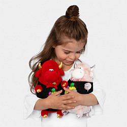 Игрушка-бычок Among Us Амонг Ас цвета 3D-красный — фото 2