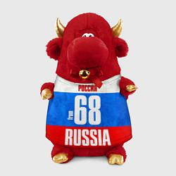 Игрушка-бычок Russia: from 68 цвета 3D-красный — фото 1