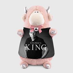 Игрушка-бычок Стивен Кинг цвета 3D-светло-розовый — фото 1