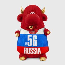 Игрушка-бычок Russia: from 56 цвета 3D-красный — фото 1