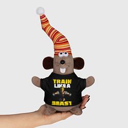 Игрушка-мышка Train Like a Beast цвета 3D-серый — фото 1