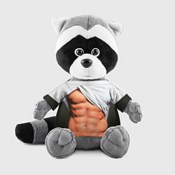 Игрушка-енот Идеальное тело цвета 3D-серый — фото 1