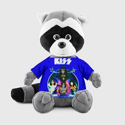 Игрушка-енот Kiss Show цвета 3D-серый — фото 1
