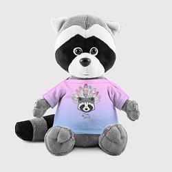 Игрушка-енот Raccoon: Free Spirit цвета 3D-серый — фото 1