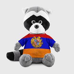 Игрушка-енот Армения цвета 3D-серый — фото 1