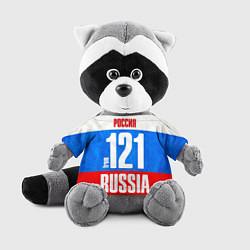Игрушка-енот Russia: from 121 цвета 3D-серый — фото 1