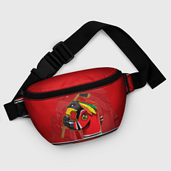 Поясная сумка Chicago Blackhawks цвета 3D-принт — фото 2