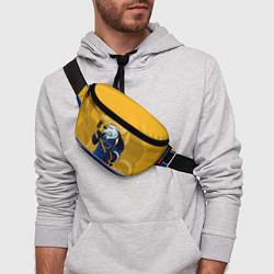 Поясная сумка St. Louis Blues цвета 3D-принт — фото 2