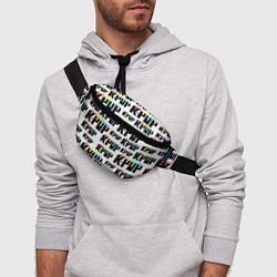 Поясная сумка K-pop Pattern цвета 3D-принт — фото 2