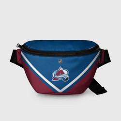 Поясная сумка NHL: Colorado Avalanche цвета 3D-принт — фото 1